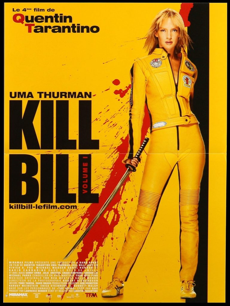 Kill Bill Playbill